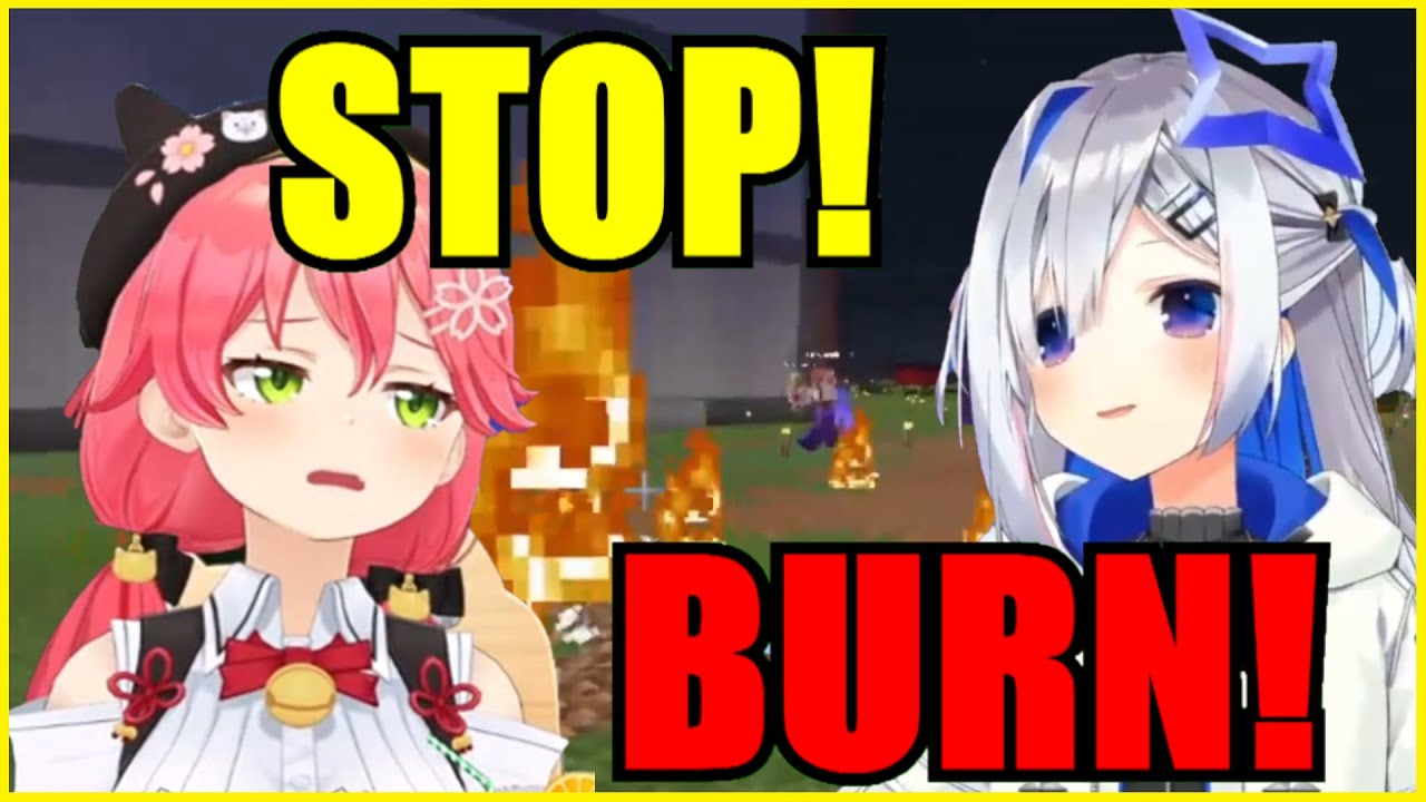 Miko Tried Killing Kanata But Got Her School Burned, And Killed By Marine【Hololive | Eng Sub】