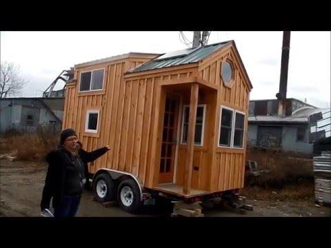 8x16 Tiny House On Wheels Tour Youtube