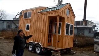"""custom 8x16 Tiny House On Wheels"" - Heat, Electric, Plumbing, Kitchen, Bath, Toilet, 2 Lofts"