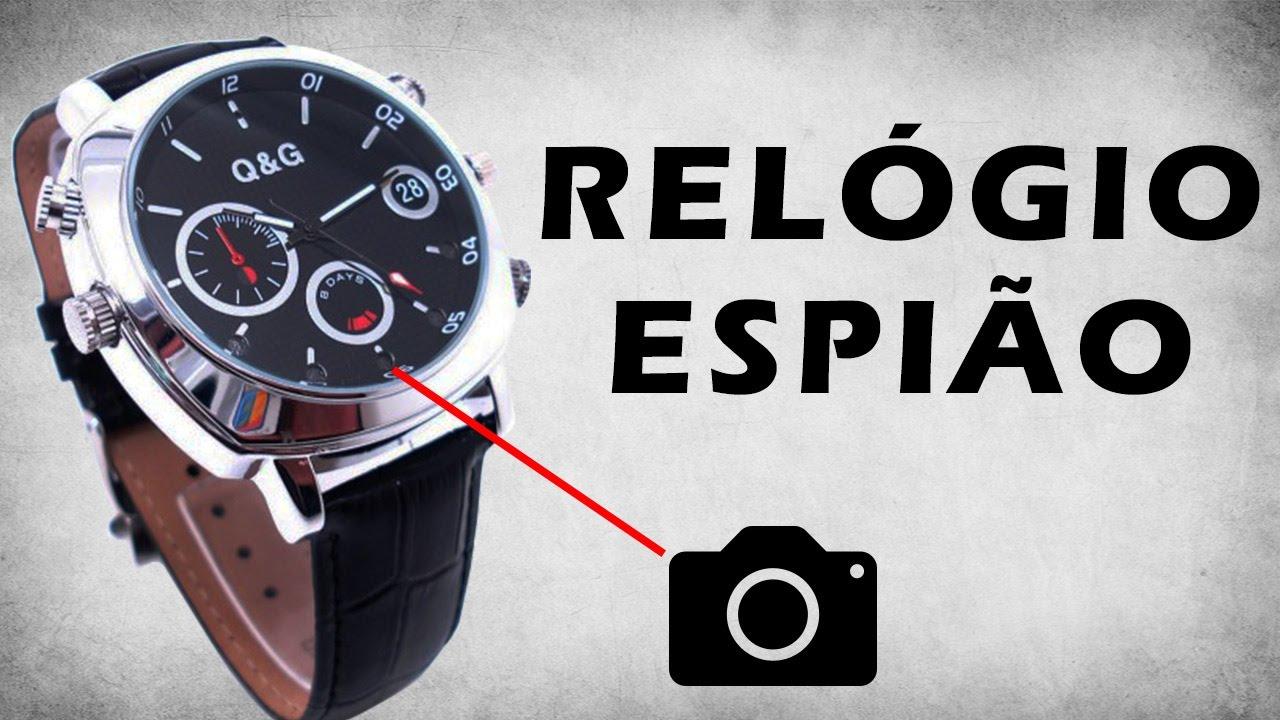 2fc7ac9fe7a VENHA CONHECER ESSE RELÓGIO DE PULSO ESPIÃO! - YouTube