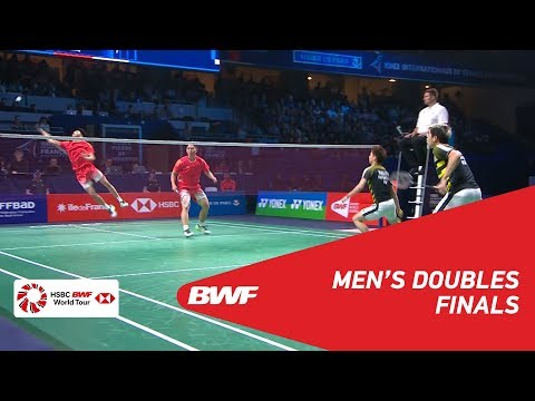 F | MD | GIDEON/SUKAMULJO (INA) [1] vs HAN/ZHOU (CHN) | BWF 2018