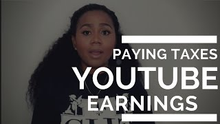 Making Money on Youtube and Paying Taxes!