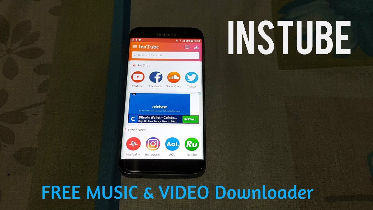 InsTube - A Free Video and Music Downloader for Android 2018