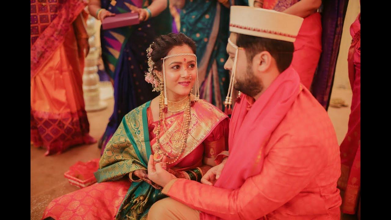 Samruddhi & Aditya | Marathi Wedding | The Moonstruck Stories