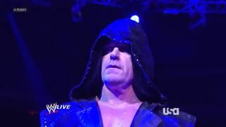 Гробовщик и CM Панк (RAW 18.03.2013)