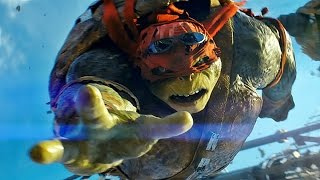 TEENAGE MUTANT NINJA TURTLES | Trailer, Filmclip & Featurette deutsch german [HD]
