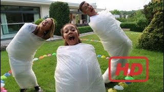 EXTREME BUBBLE WRAP CHALLENGE GONE WRONG!! Family Fun Games | Famtastic