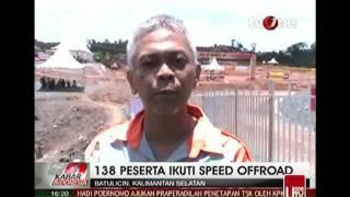 Berita Terbaru Hari Ini 16 Maret 2015 Kecelakaan Offroad Batu Licin, Kalimantan Selatan