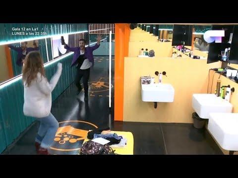 Agoney y Ana asustan a Amaia   OT 2017