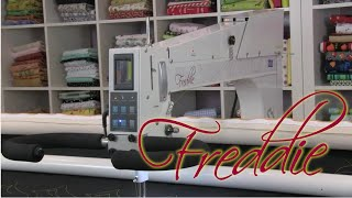Freedom longarm quilting machine from APQS