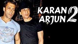 Shahrukh Khan & Salman Khan in Karan Arjun 2