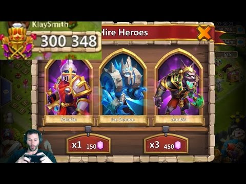 KlaySmith 70000 Gems Looking For GunSlinger Castle Clash