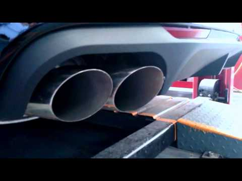 Exhaust Sound Check FORD MUSTANG Shelby GT500 Coupe
