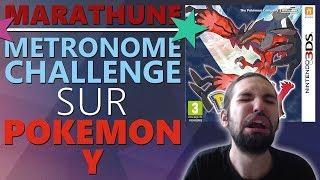 REDIFF : Métronome Challenge sur Pokémon Y #1