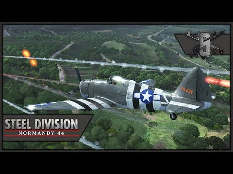 Preventing Axis Breakthrough - Back to Hell DLC - Steel Division: Normandy 44 Multiplayer
