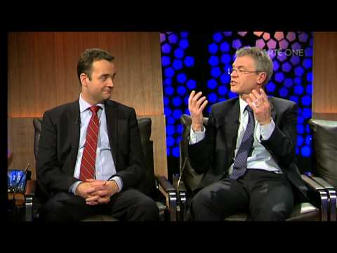 Joe Brolly and Shane Finnegan on The Late Late show