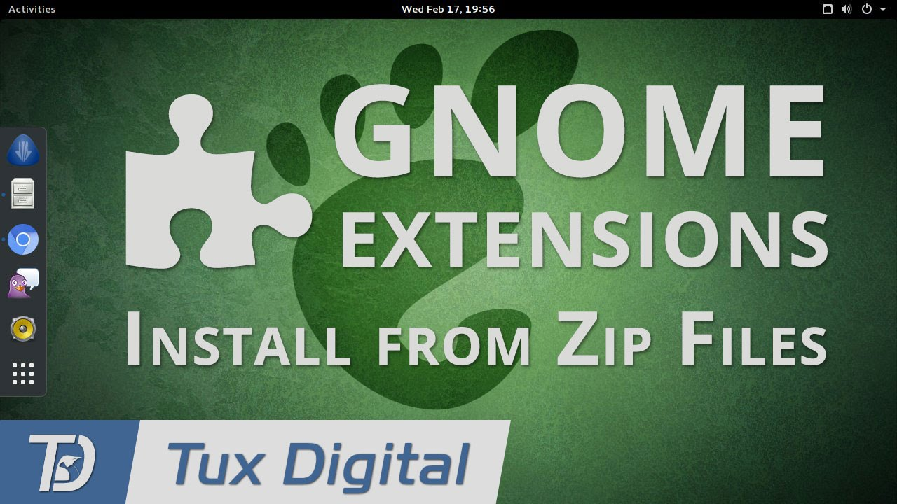 How To Install GNOME Extensions with Zip Files