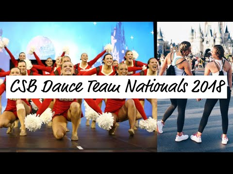 College of Saint Benedict Dance Team Nationals 2018