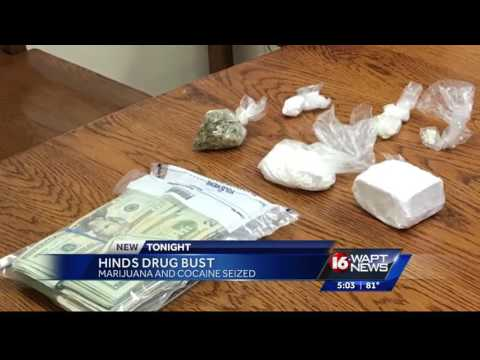 Drug bust in Hinds County, 2 arrested