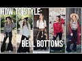 HOW TO STYLE: Bell Bottoms | 5 OUTFIT IDEAS | NOEL LABB