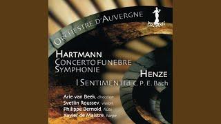 Symphonie No. 4 pour orchestre à cordes: III. Adagio appassionato