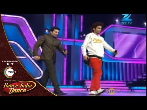 Dance India Dance Season 3 - Raghav Crockroaxz Funny Slow Motion With Jay Bhanushali