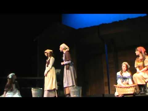 Fiddler on the Roof Matchmaker Lexi Parr Wahlert Catholic High School