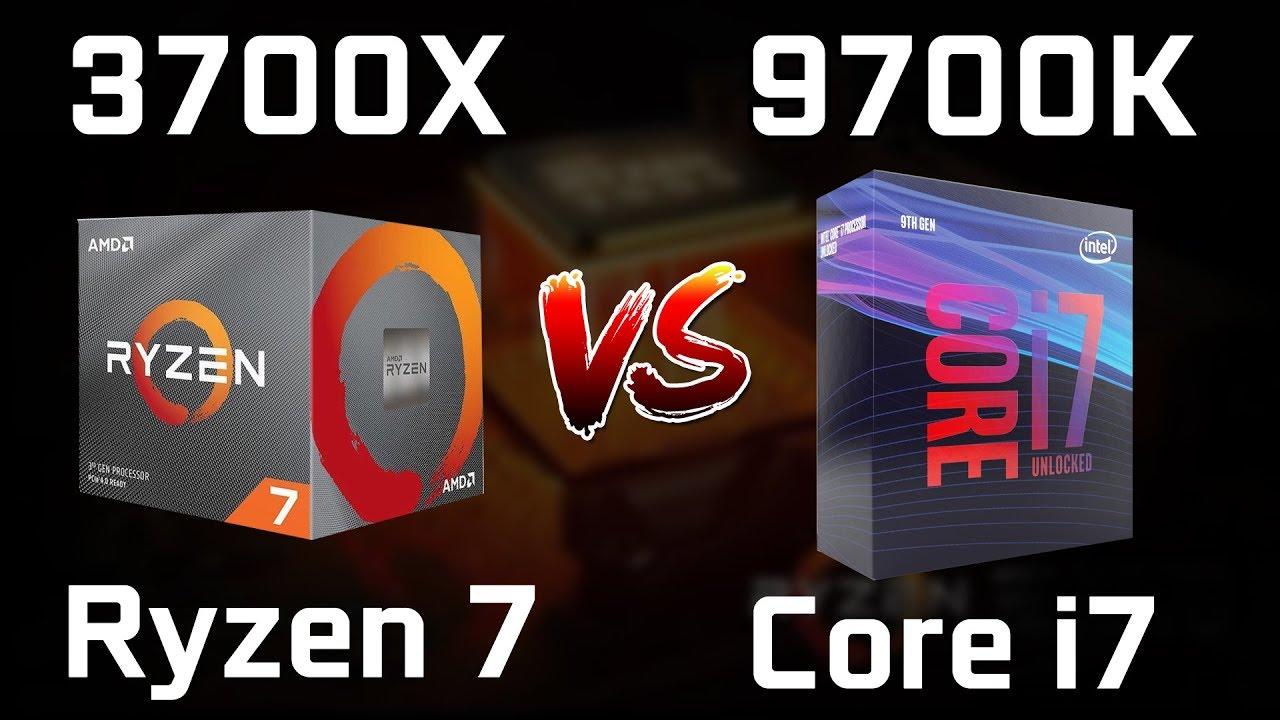 Ryzen 7 3700x Vs Core I7 9700k Vs Ryzen 9 3900x New Leaked Benchmarks Youtube