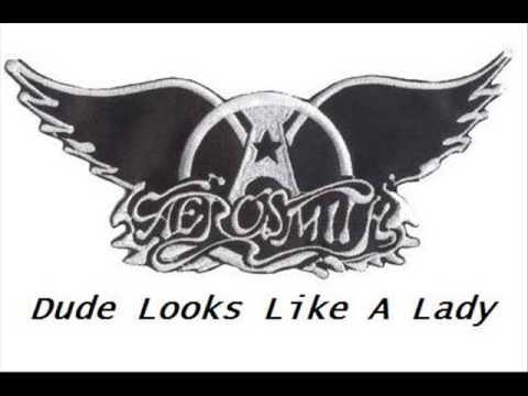 Aerosmith - Dude Looks Like A Lady +Lyrics