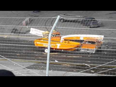 Demolition Car Kings Park Speedway