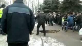 Трагедия в центре Брянска 1
