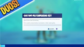 DUO CUSTOMS with SUBSCRIBERS! Use DEFAULT Skin! (Xbox/Ps4 Fortnite Battle Royale)