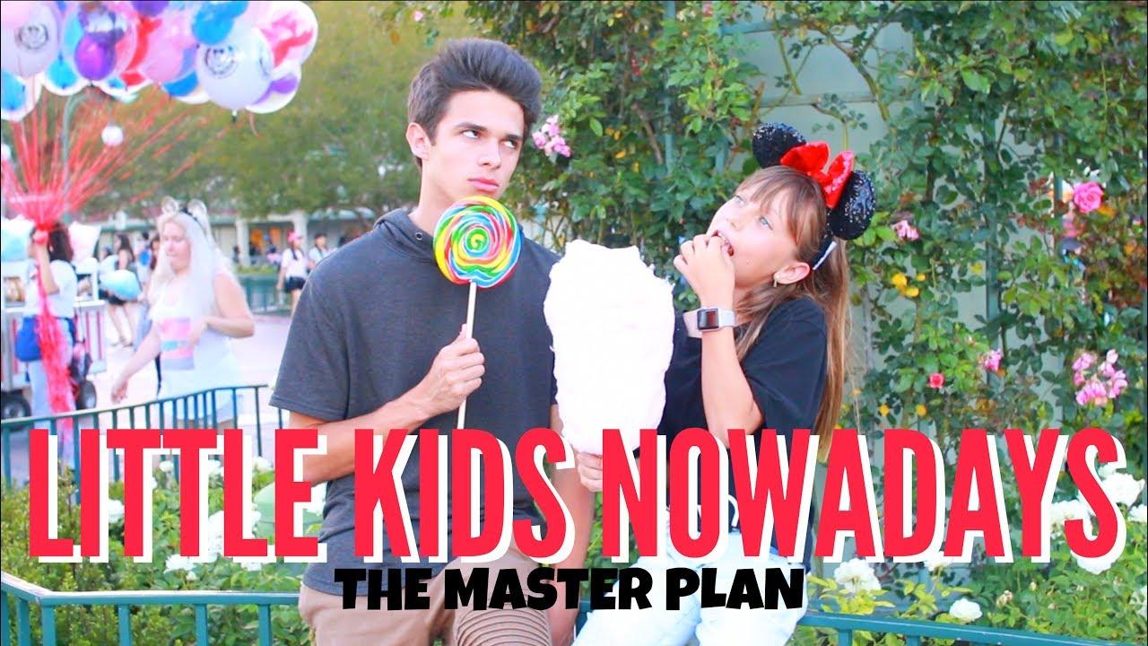 little kids nowadays the master plan brent rivera youtube