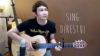 (Mahesa & Dewi Cinta) Sing Direstui - Nathan Fingerstyle | Guitar Cover