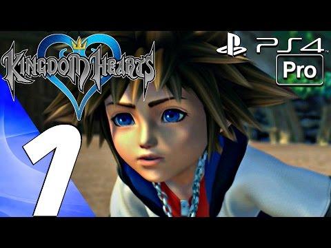 Kingdom Hearts 1 HD - Gameplay Walkthrough Part 1 - Prologue (PS4 PRO) KH 1.5 + 2.5