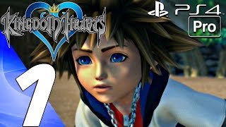 Kingdom Hearts 1 HD - Gameplay Walkthrough Part 1 - Prologue (PS4 PRO) KH 1.5 + 2.5