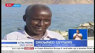 Drowned Geysers: Lake Bogoria\'s hot springs fading fast