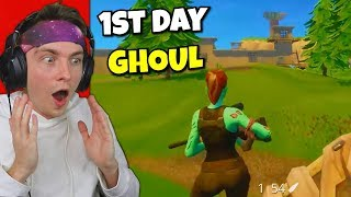 reacting to first time using ghoul trooper...