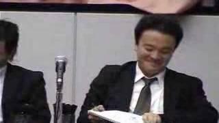 2007年8月開催の大喜利世界一決定戦ビックワン決勝の模様です。 三平×2...