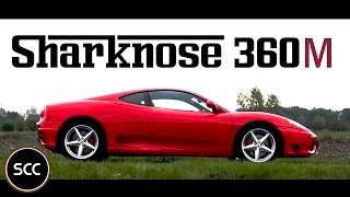 FERRARI 360 MODENA Manual | Full test drive in top gear | V8 Engine sounds | SCC TV