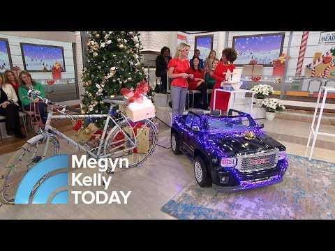 Learn How To Wrap Those Odd-Shaped Christmas Presents | Megyn Kelly TODAY