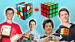 Feliks Zemdegs Top 10 Rubiks Cube singles