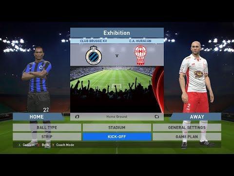 Club Brugge KV vs C.A. Huracán, Jan Breydel Stadion, PES 2016, PRO EVOLUTION SOCCER 2016