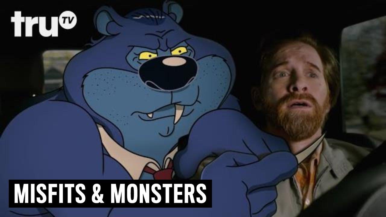 Download Bobcat Goldthwait's Misfits & Monsters - Not-So-Nice Bubba the Bear | truTV
