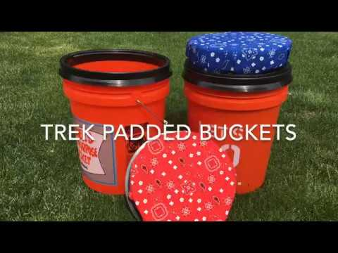 How to pad a 5 gallon bucket seat