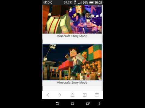 Download MineCraft Story Mode For Android Full !(Apk+Data)