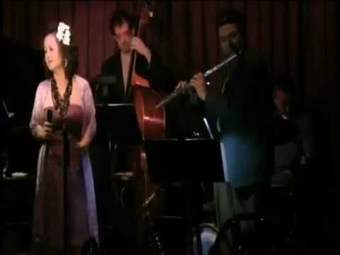 """KYOKO SAEGUSA sings """"Blossom Dearie"""" with Keith Ingham Trio and Bobby Porcelli"""