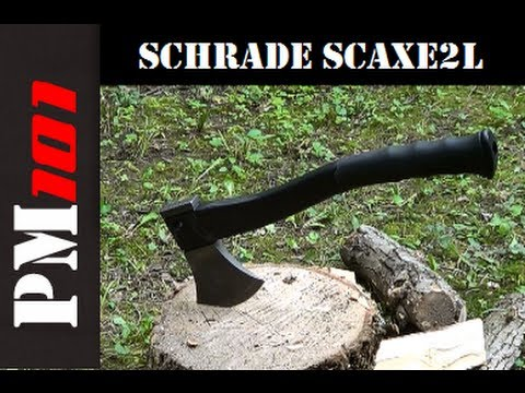 Schrade SCAXE2L: Affordable Yet Effective Survival/Camp Axe