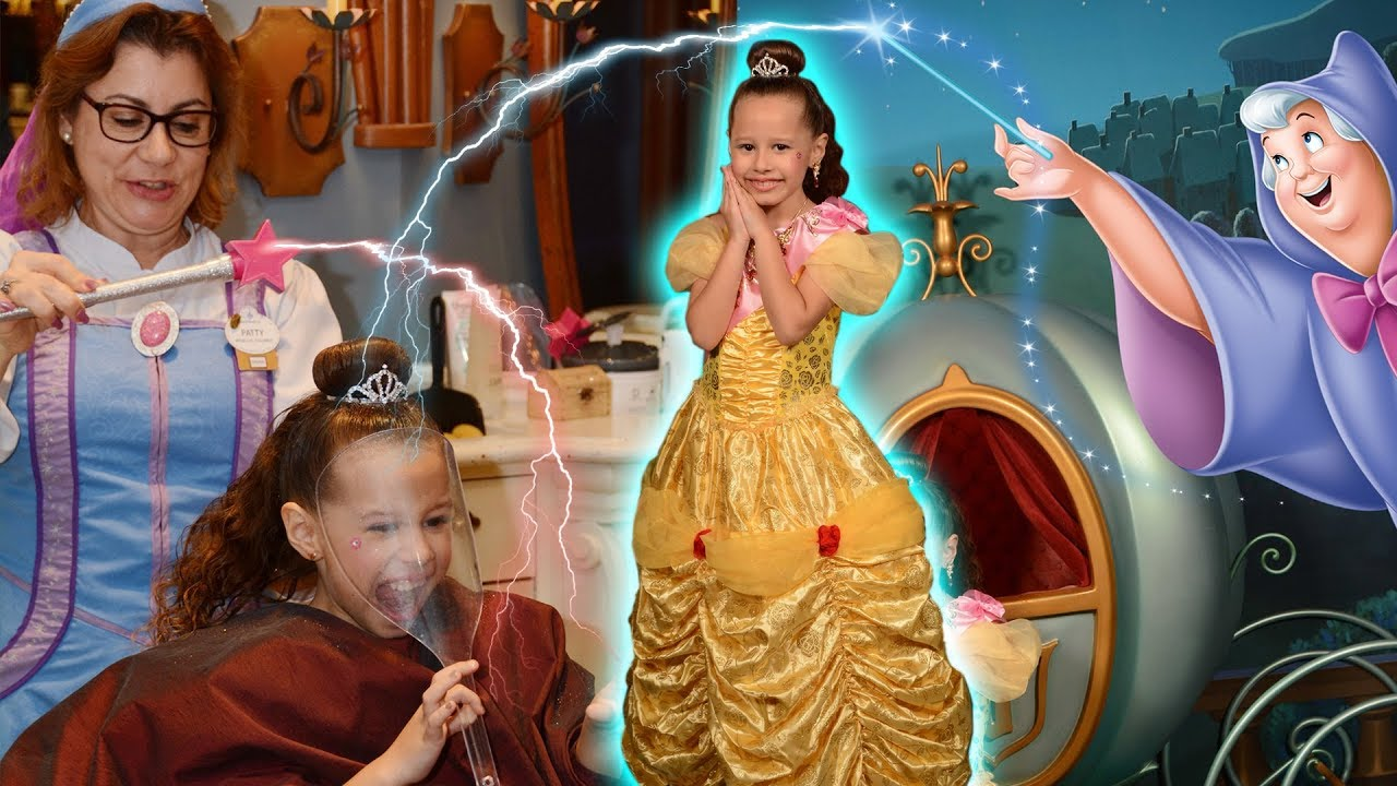 Valentina virando uma princesa de verdade