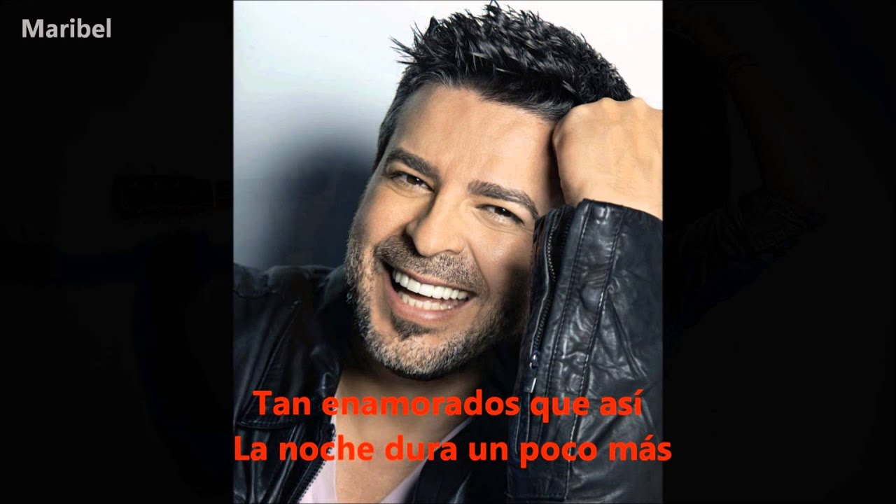 Luis Enrique - Tan enamorados (Letra) leomarbel HD - YouTube